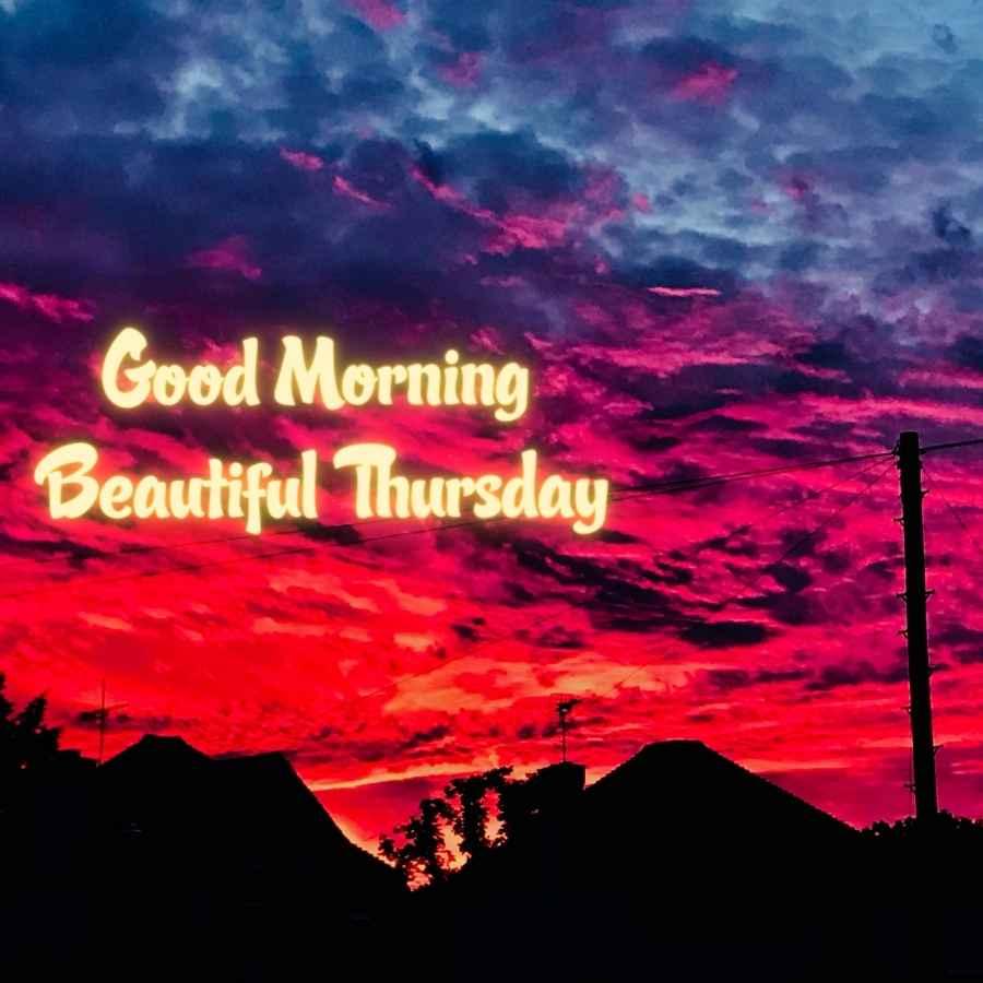 blessed thursday morning images