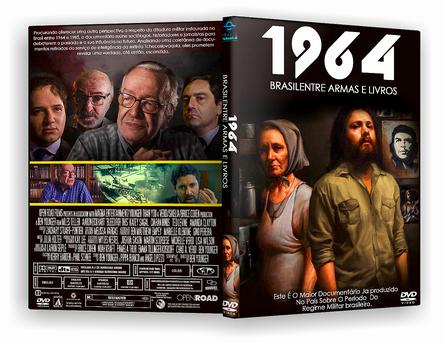 CAPA DVD – 1964 O Brasil Entre Armas E Livros DVD-R