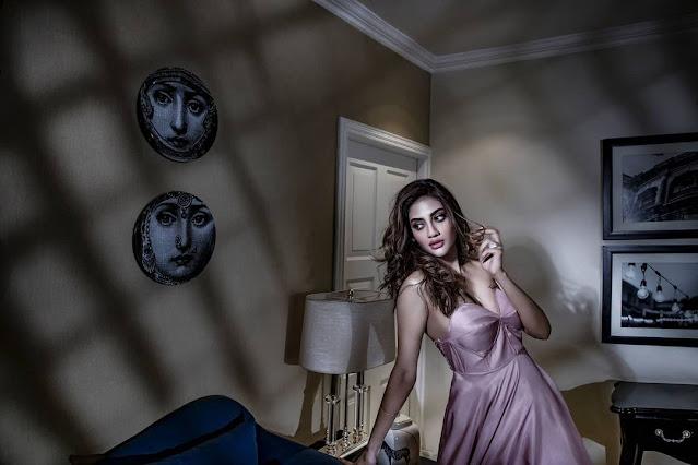 tmc mp and actress nusrat jahan glamourous photo goes viral
