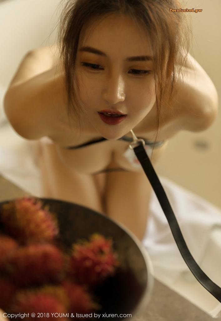 YouMi Vol.224 SOLO MrCong.com 011 wm - YouMi Vol.224: Người mẫu SOLO-尹菲
