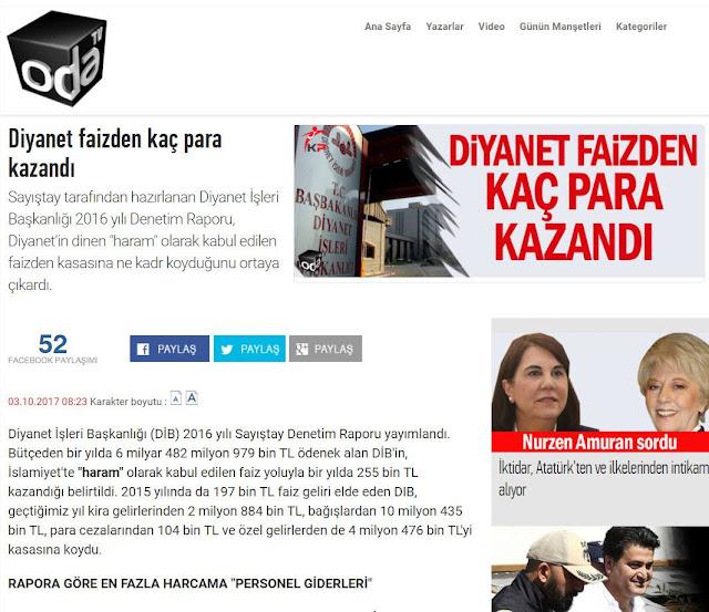 akademi dergisi, Mehmet Fahri Sertkaya, sabetaycılık, sabetayistler, içimizdeki israil, kripto yahudiler, diyanet işleri başkanlığı, oda tv, haram, faiz,