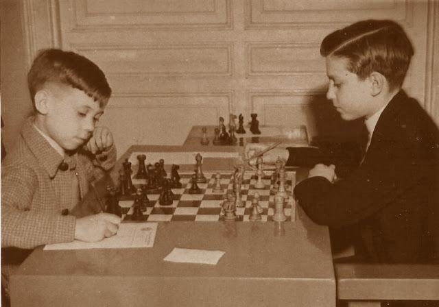 Partida de ajedrez Sales-Anguera, Campeonato Infantil de Barcelona 1949