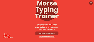 Morse Typing Trainer