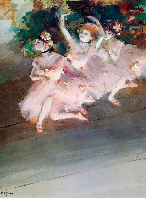 Эдгар Дега - Три балерины (1879)