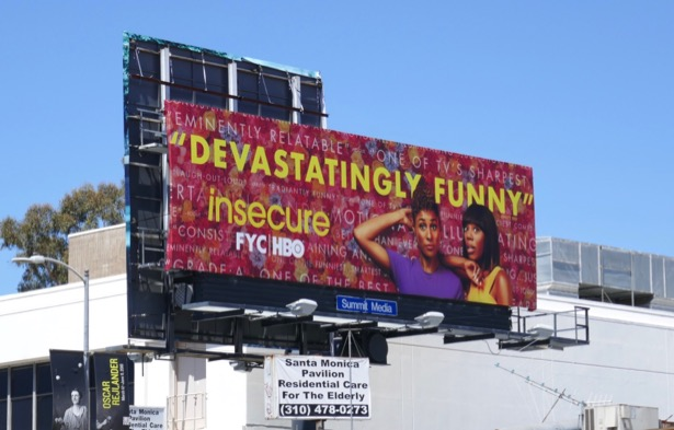 Insecure season 3 Emmy FYC billboard