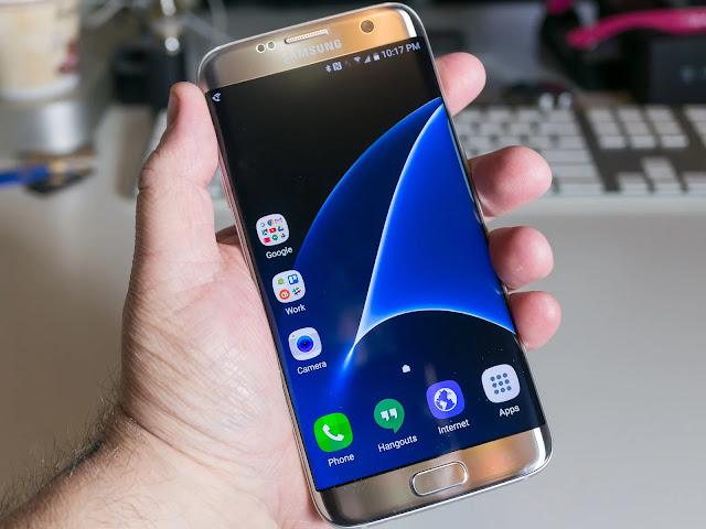 Samsung Galaxy S7 Edge tajam dan jernih dengan Super AMOLED