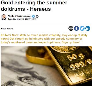 국제 금 시세 전망 : 여름철 침체국면 진입