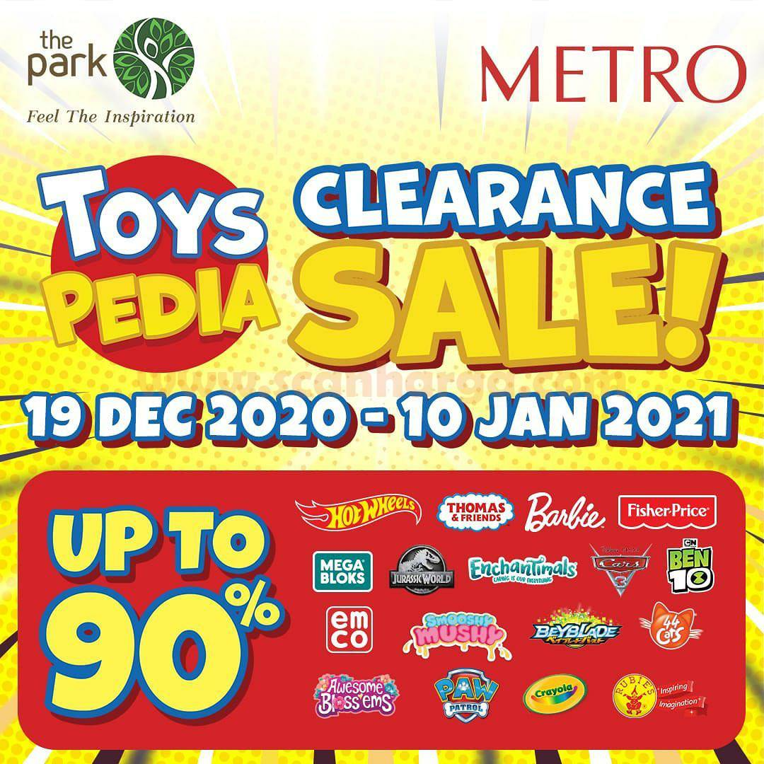 METRO Promo TOYS PEDIA CLEARANCE SALE! Disc. up to 70% Off