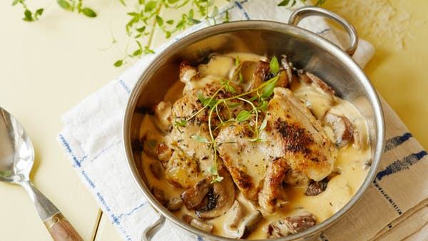 Chicken some facts and recipe ideas - Page 2 ChickenthighscreamyGarlicMushroomdd