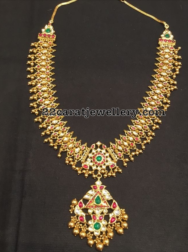 Antique Set with Rubies