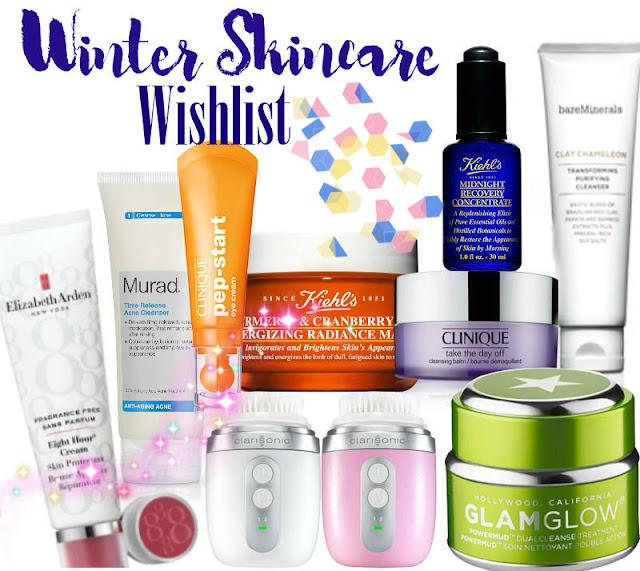winter skincare wishlist