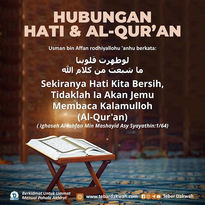 HUBUNGAN HATI & AL-QUR'AN