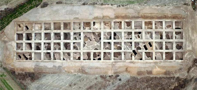 6,000-year-old pentagonal structure discovered in north China
