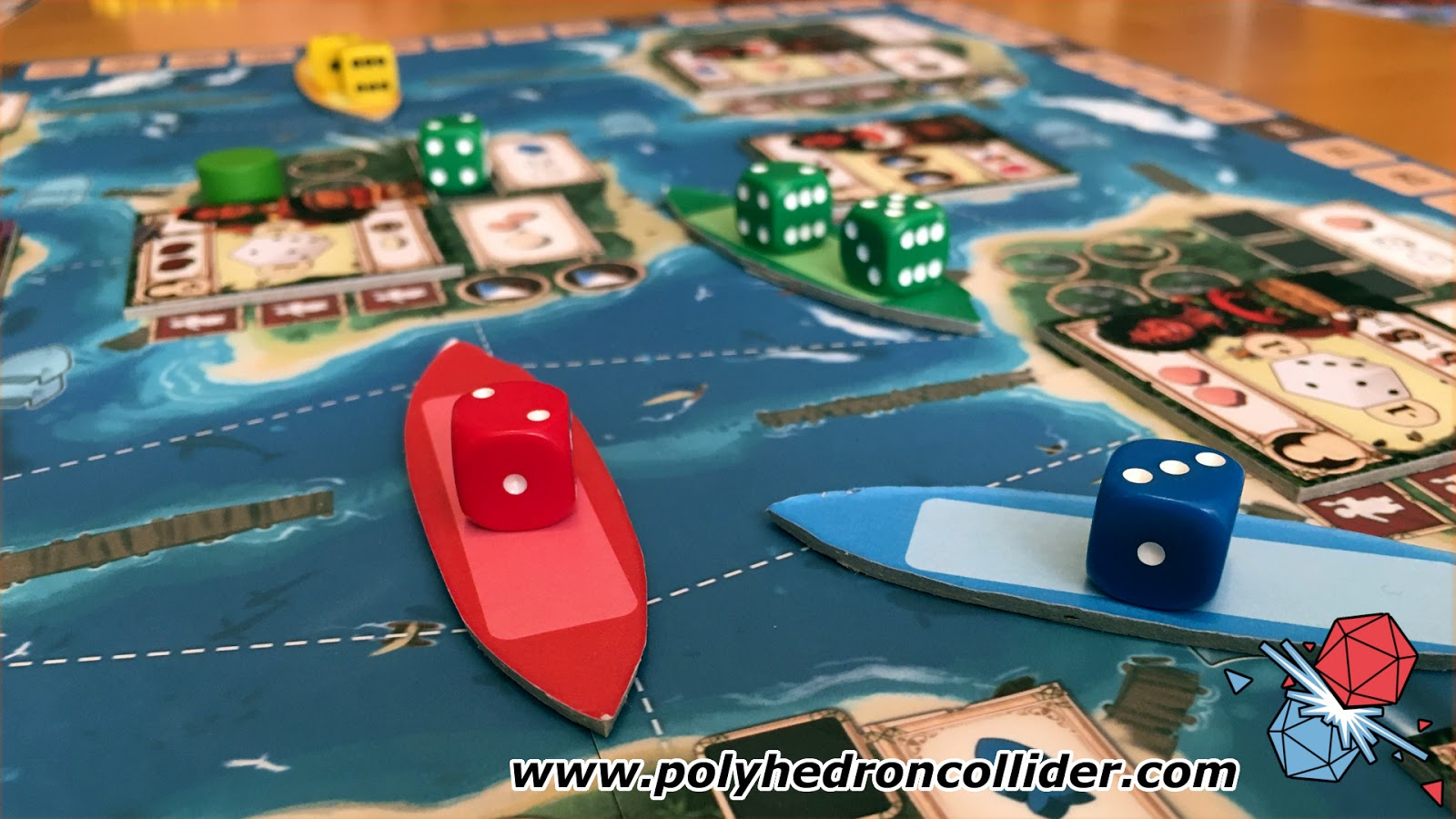 Tangura board game kickstarter review dice placement