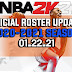 NBA 2K21 OFFICIAL ROSTER UPDATE 01.22.21