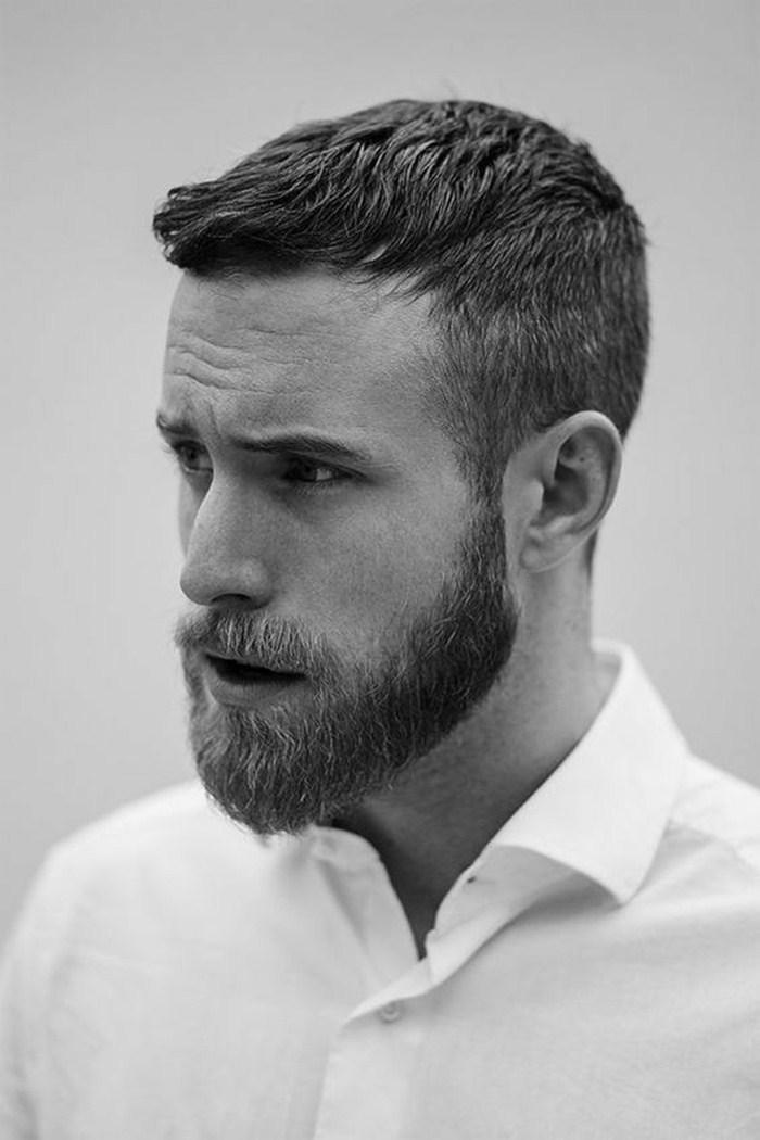 Cortes de cabelo masculino social moderno: cabelo bem curto é a melhor escolha para quem quer poupar tempo