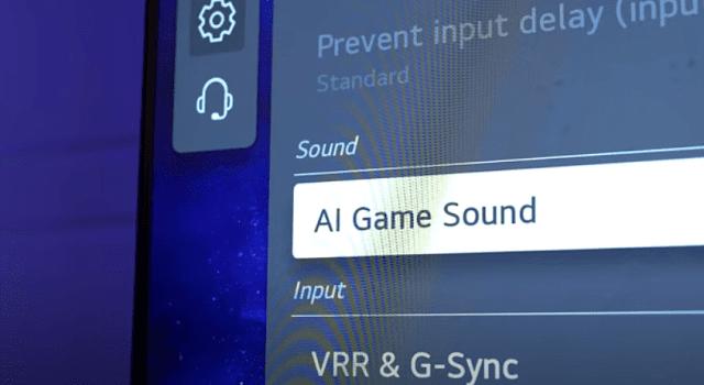 AI game sound
