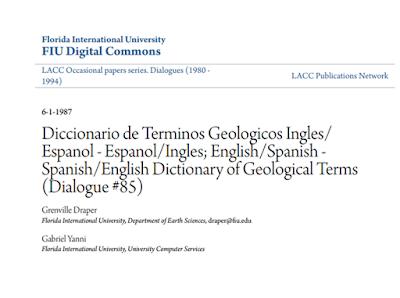 Bilingue Geología