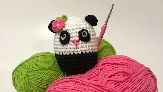 Tutorial Osito Panda Amigurumi a Crochet
