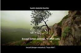 "Asbabun Nuzul Ayat  23 - 24, Surat Al-Kahfi Tentang Kata ""Insya Allah"""