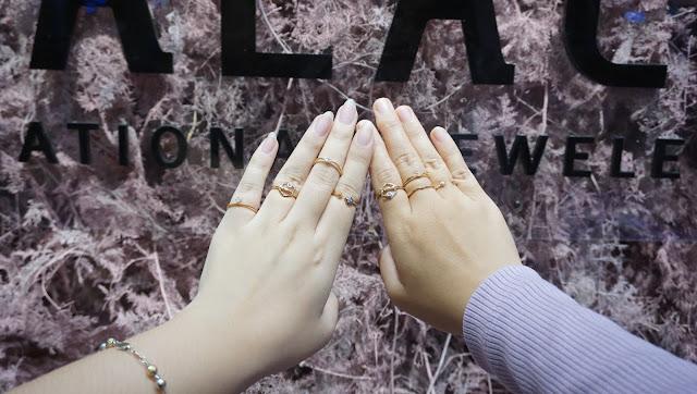Cincin stackable Korean Style  The Palace Jeweler