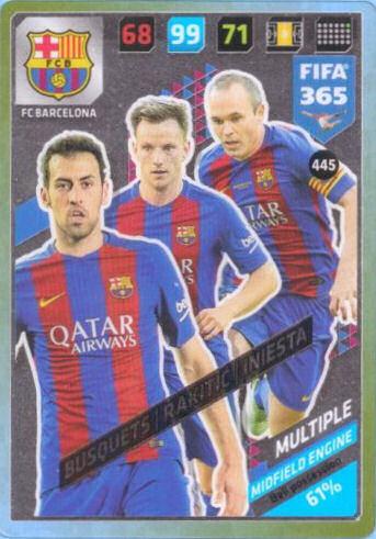 FIFA 365 cards 2018-451-Pogba//Martial-Multiple