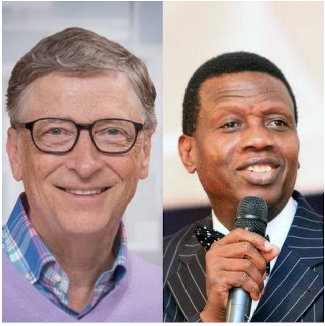 'We don't have money to battle covid-19 but we have God' - Adeboye to Gates after the billionaire said he expects bodies everywhere in a Africa.