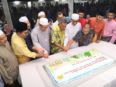Majlis Sambutan Aidilfitri di Perkarangan Pusat Aktiviti UMNO Bahagian Kuala Terengganu, Terima kasih atas jemputan