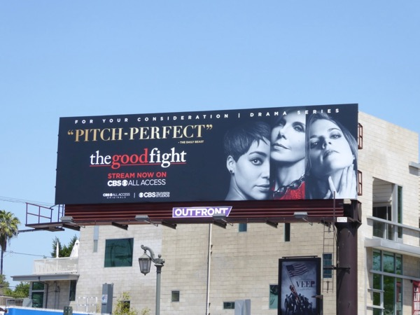 Good Fight season 1 Emmy billboard