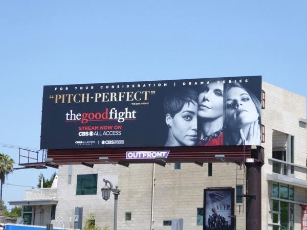 Good Fight season 1 Emmy billboard