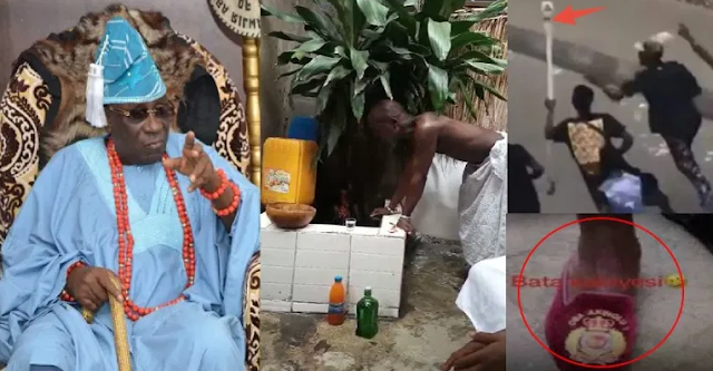 Oba of Lagos charges the 'gods' on hoodlums of the king's staff (Watch)