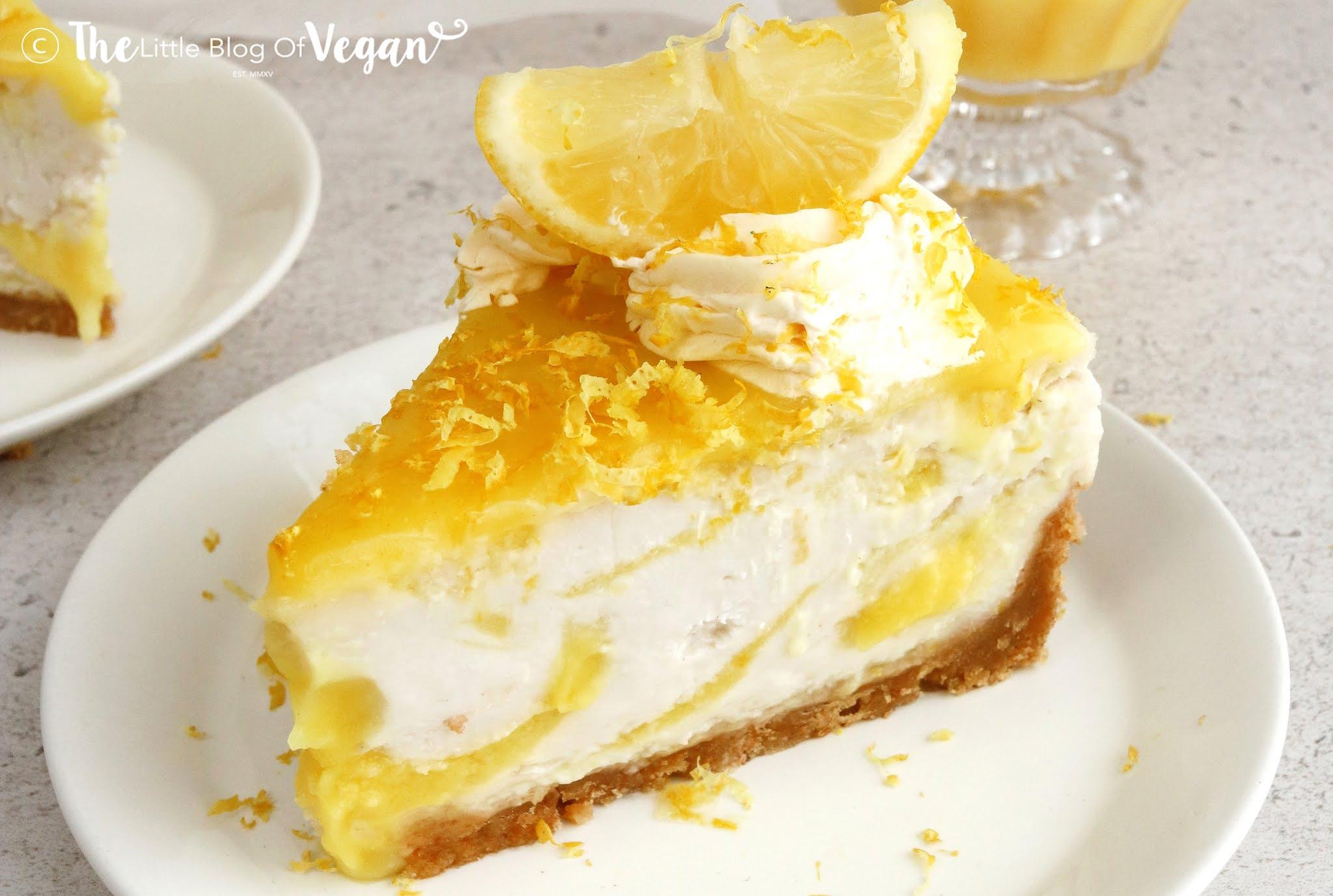 No-Baked Lemon Cheesecake