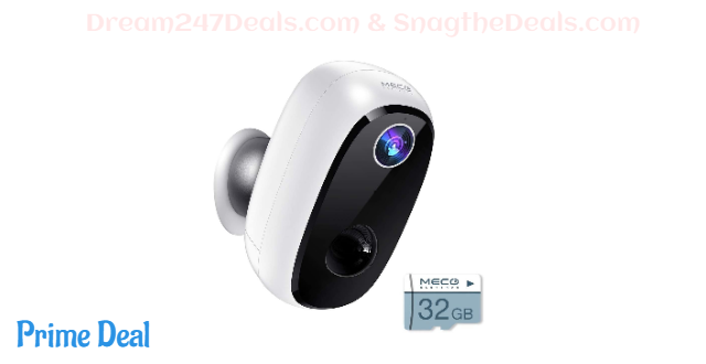 Wireless Outdoor Security Camera 50.01% OFF