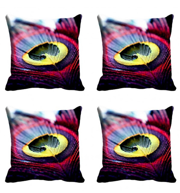 Feather Cushion Cover (18X18)