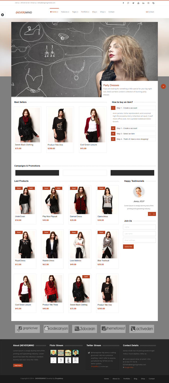Premium Multipurpose eCommerce Theme