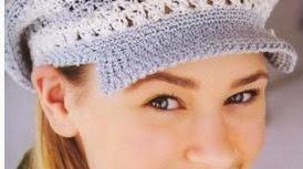 6 patrones de gorros crochet
