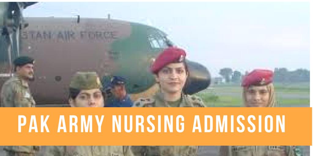 Pakistan armed forces nursing service AFNS Admission
