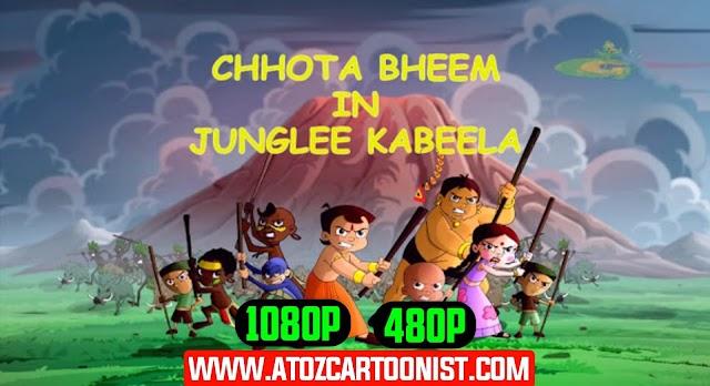 CHHOTA BHEEM IN JUNGLEE KABEELA (THE BROKEN AMULET) FULL MOVIE IN HINDI & TELUGU DOWNLOAD (480P & 1080P)