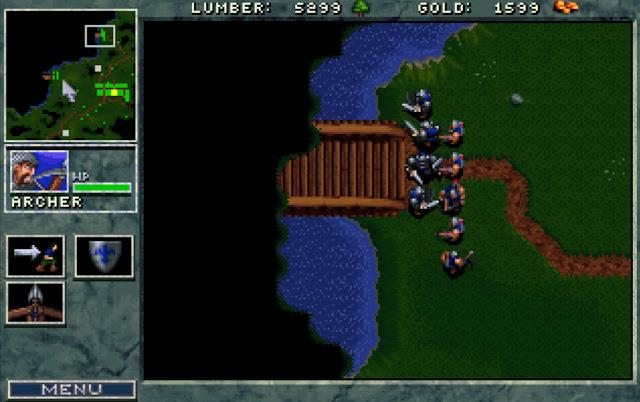 Warcraft 1 Bridges Screenshot
