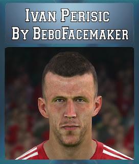 PES 2017 Faces Ivan Perisic by Bebo