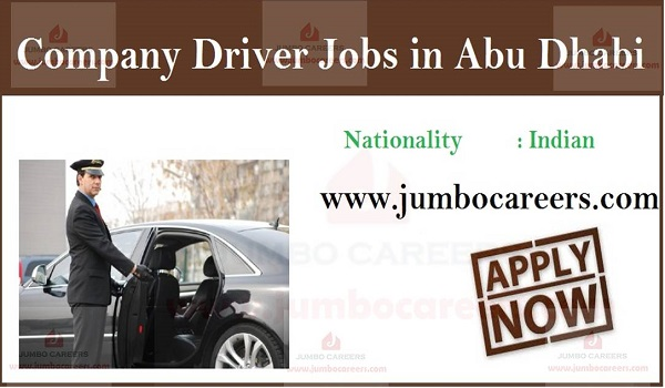 Latest job openings in Dubai, Available driver jobs in Dubai,