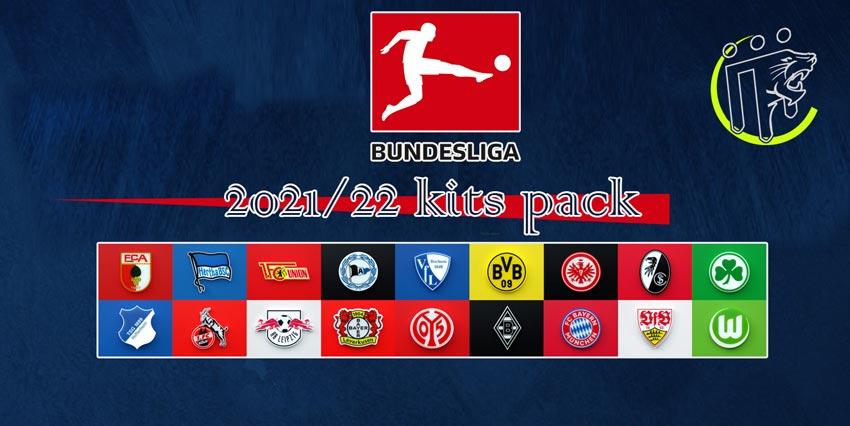 Bundesliga Kitpack Season 2021-2022 For PES 2013
