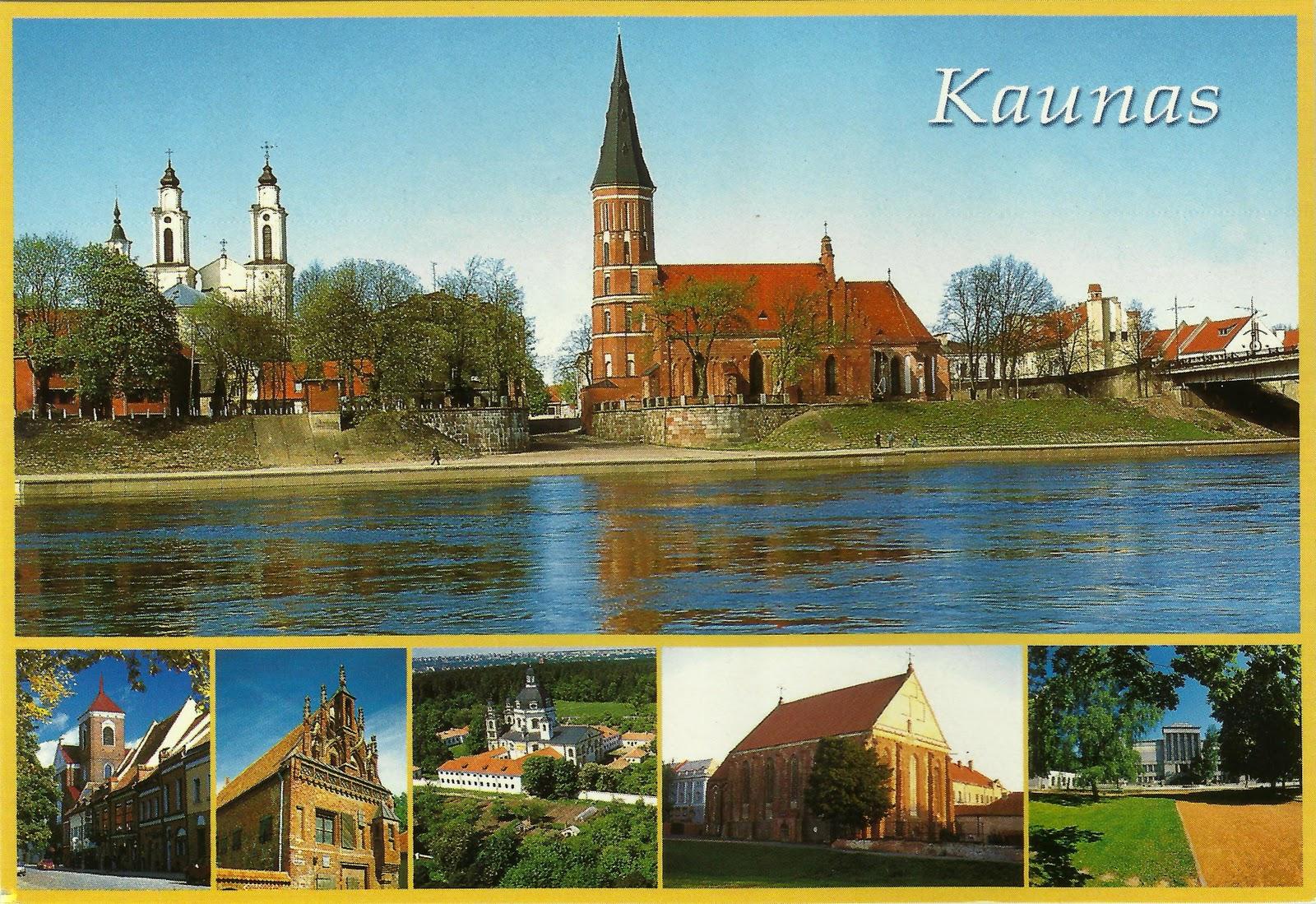 Przypadki Pocztówkowe: Litwa #1 Kowno