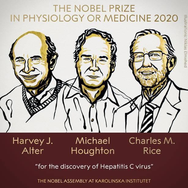 2020 Nobel Prize in Physiology or Medicine