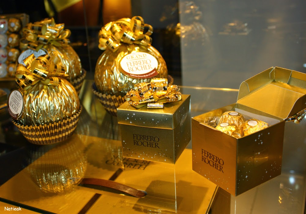 Grand Palais de Paris Ferrero  rocher