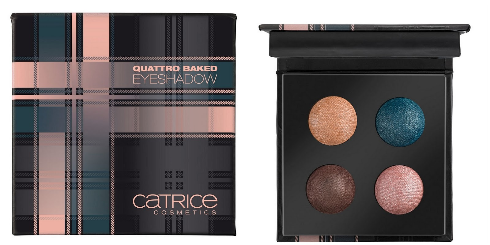 Check & Tweed by CATRICE – Quattro Baked Eyeshadow