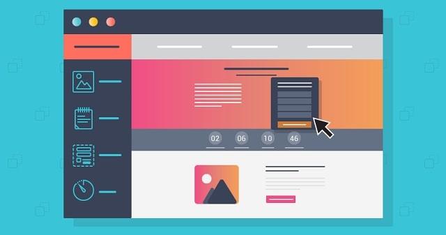 sales landing page conversion site visitor lead generation