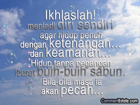 Kata-Kata Hikmah | KUPOHON RESTU KASIHMU