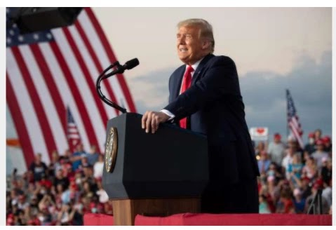 """""""I just feel so powerful."""" Trump targets Florida campaign for first rally after COVID-19 assessment"""