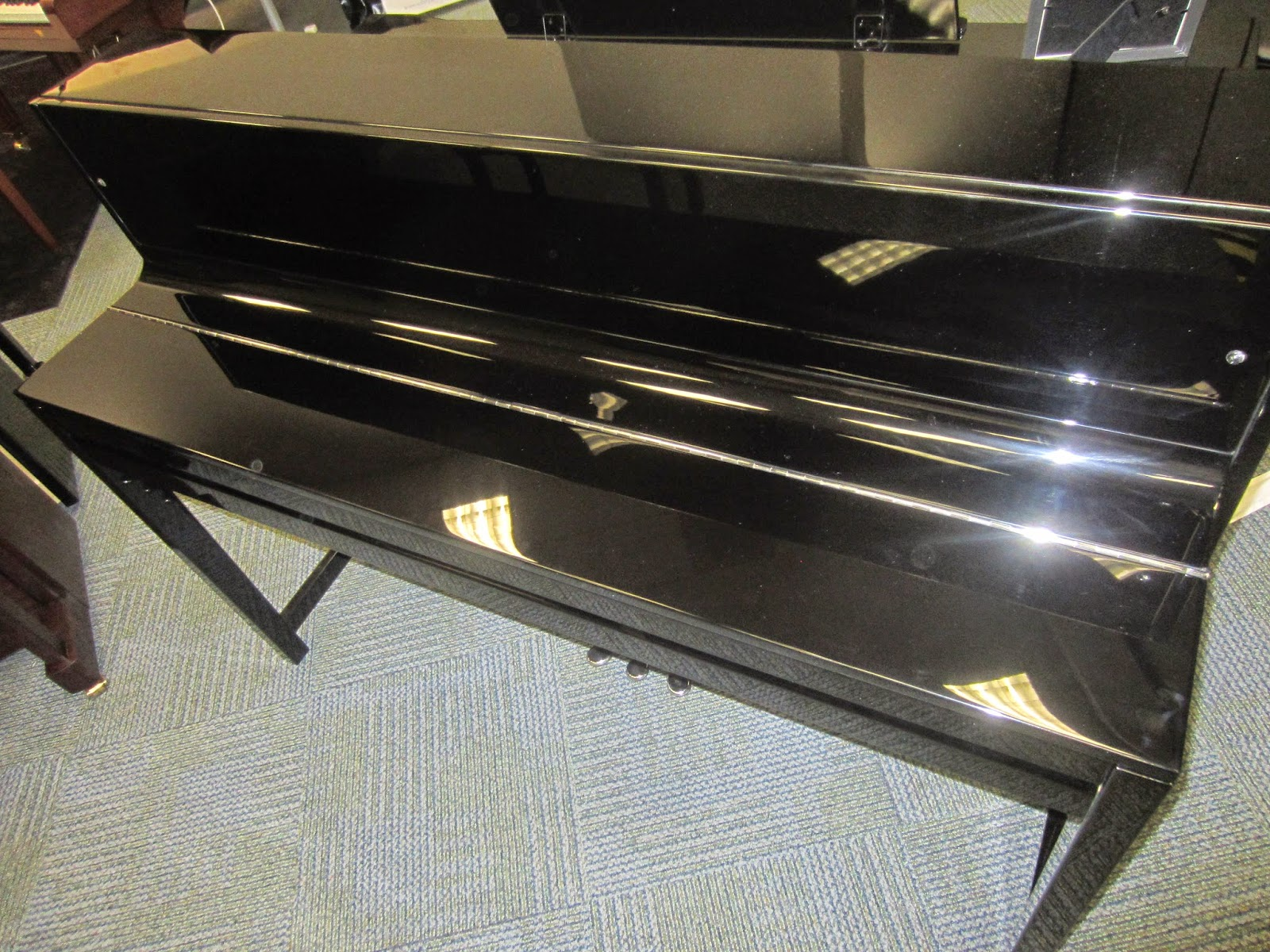 Samick Ebony 3 hybrid digital upright piano